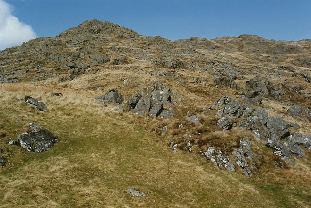 Western slopes of Rhobell Fawr