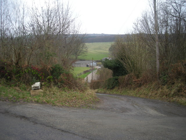 Entrance to Brook Vessons Farm