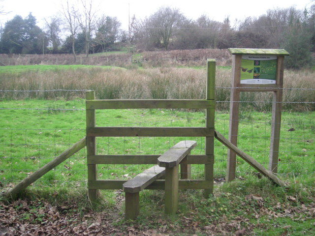 Two stiles & a boggy path