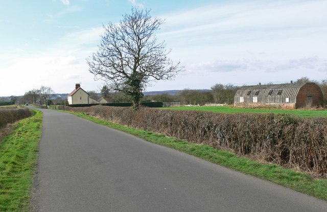 Wood Lane near Higham on the Hill
