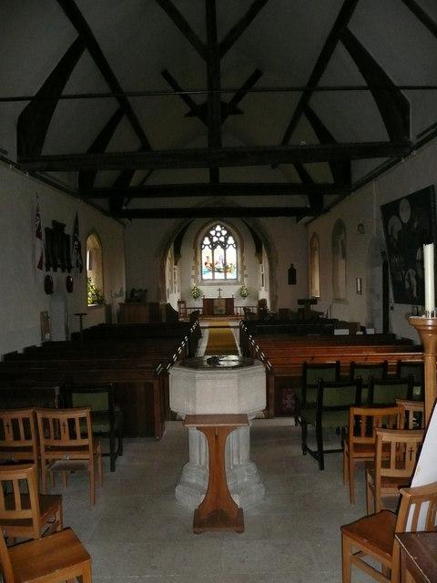 St. James' church interior