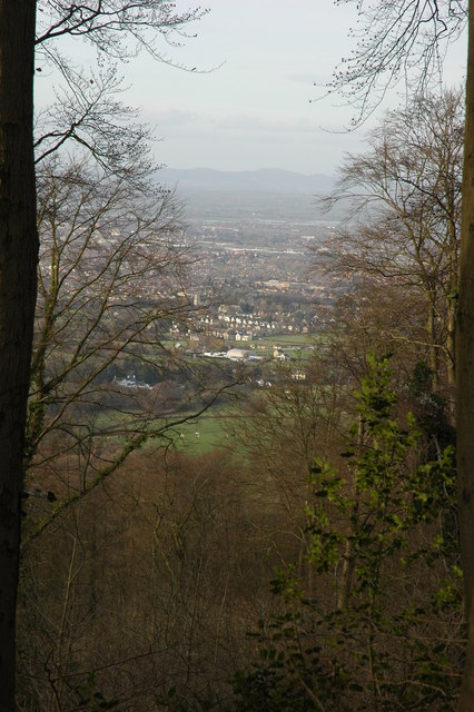 View of Gloucester from Painswick Beacon