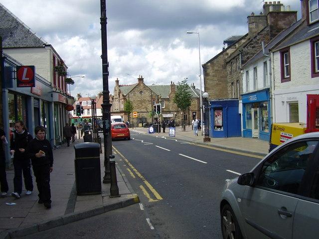 Tranent, East Lothian - The High Street