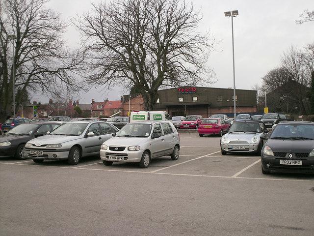 Tesco Car Park, Driffield