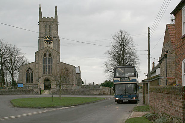 With the Delaine to Peterborough - Morton Church