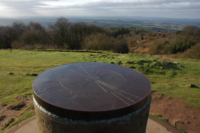 Toposcope on the Clent Hills