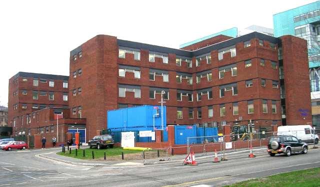 Beckett Wing - St James' Hospital - Beckett Street