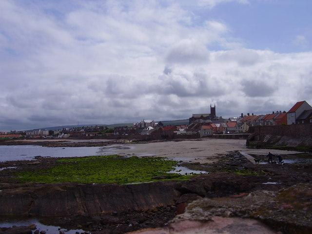 Dunbar shoreline