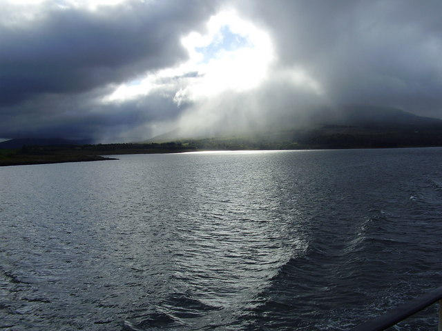 Leaving Craignure, Mull