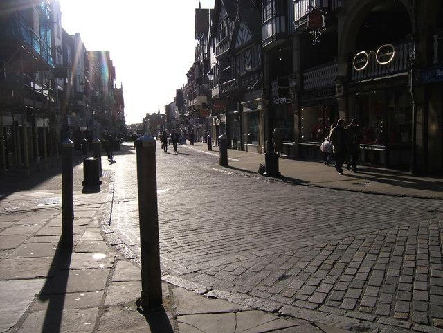 Sunny Bridge Street, Chester