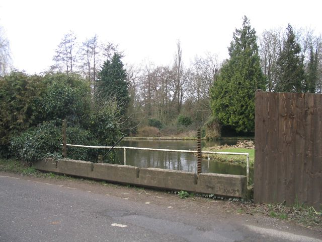 River Test in January, above the sluices