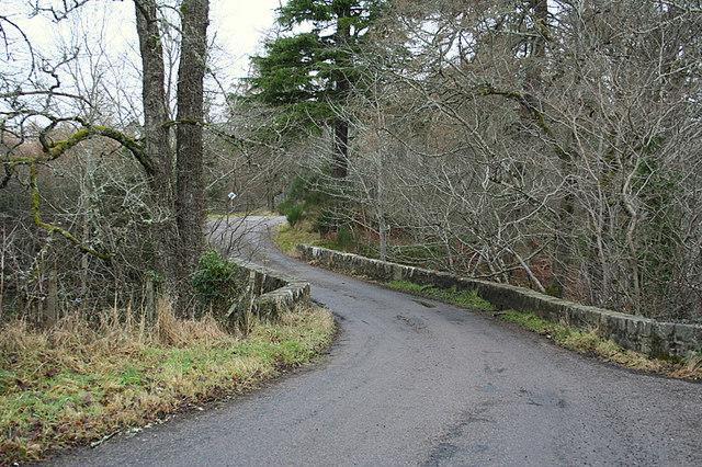 The bridge at Achindown