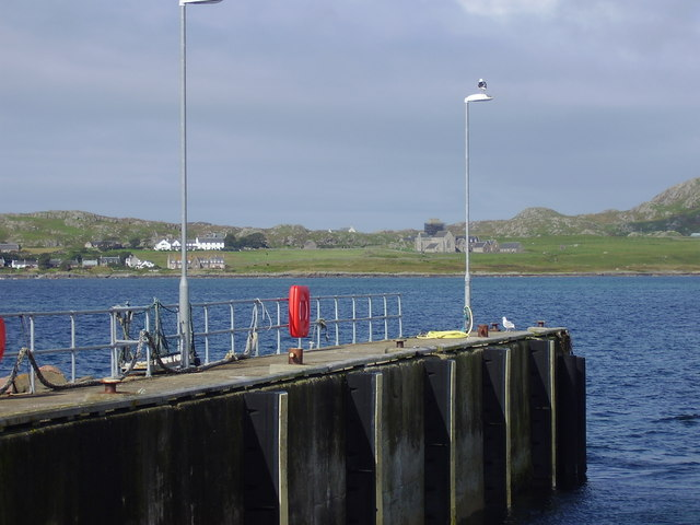 Iona from Fionnphort on the Isle of Mull