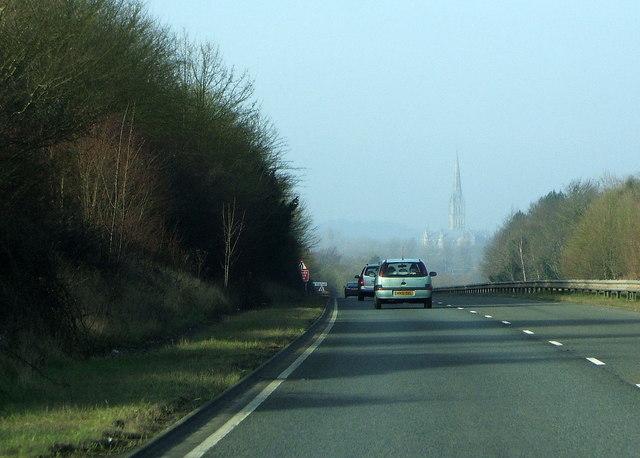 A36 to Salisbury