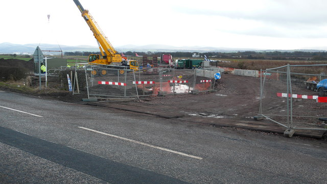 Building works near Turnhouse