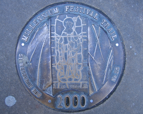Millennium Festival Trail:  St Werburgh Row - No 26
