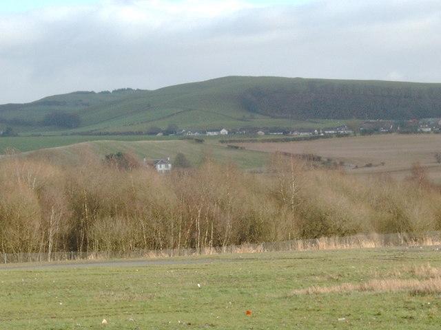 Waste land near Lochar Moss
