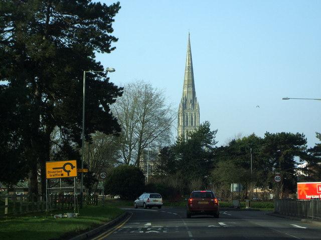 Approaching Salisbury