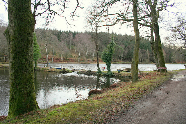 The Geddes trout fishery