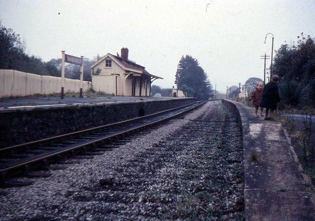 Saundersfoot Railway Station
