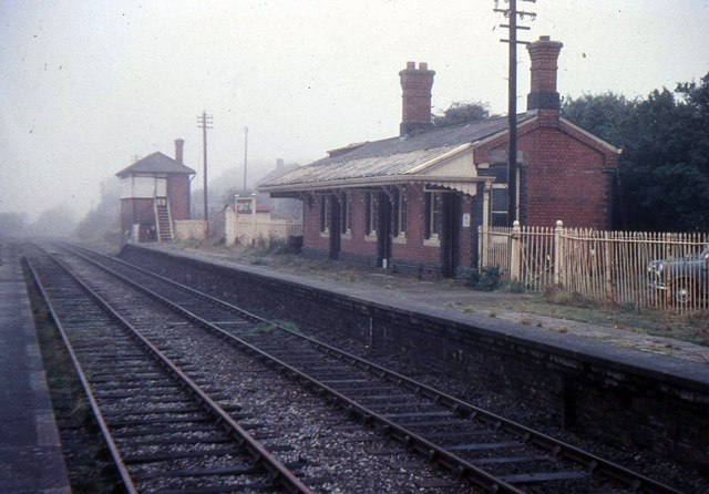 Templeton Railway Station