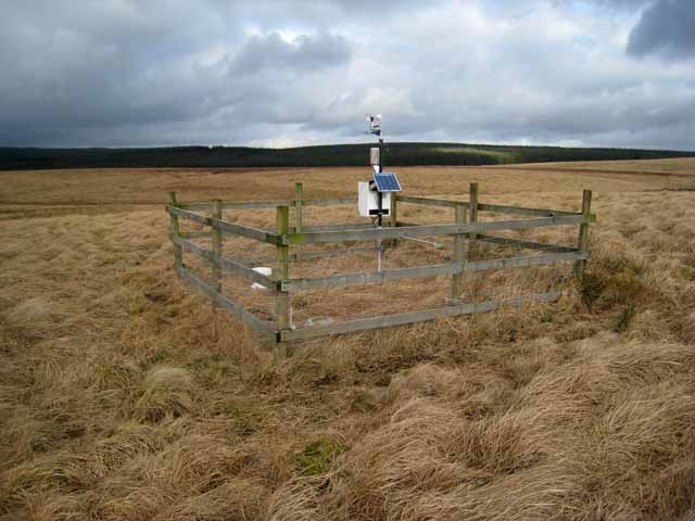 Weather Station on Limy Rigg