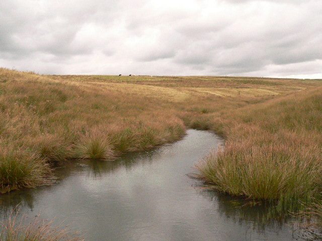 Remains of Greenfold Reservoir above Crawshawbooth