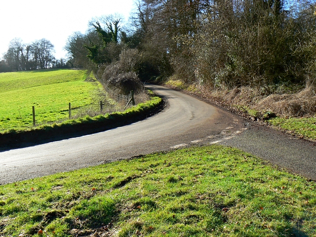 Road junction, near Berry Down, Hampshire