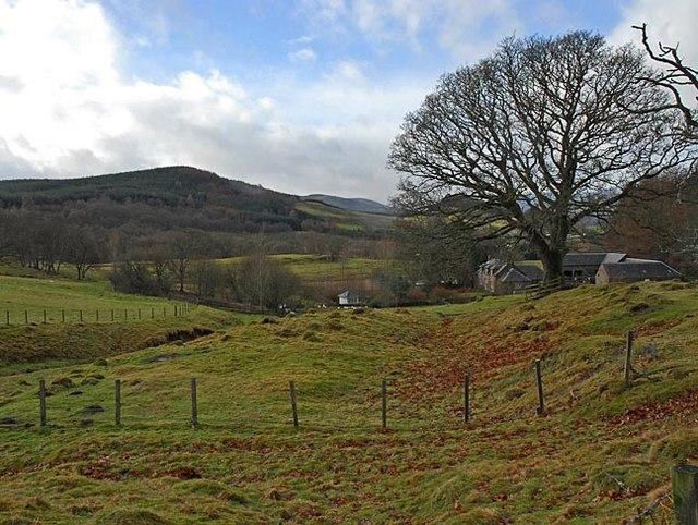 Glentarf, looking towards Auchingarrich