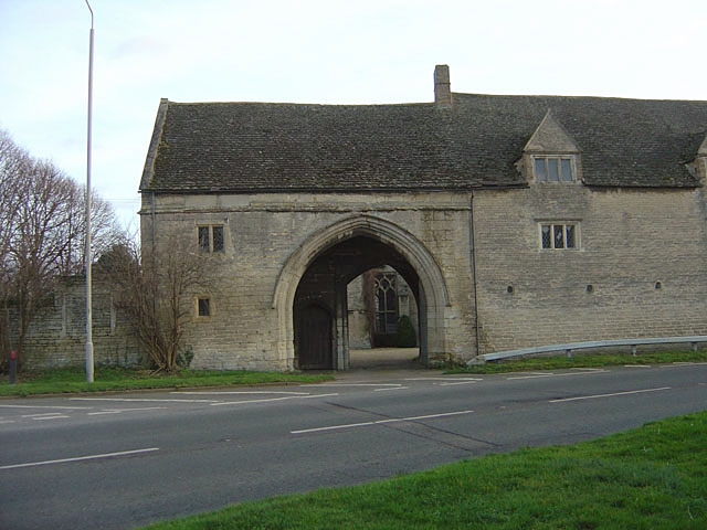 The gatehouse, Northborough Hall