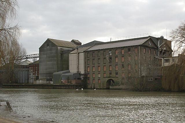 Grain mill at Peterborough