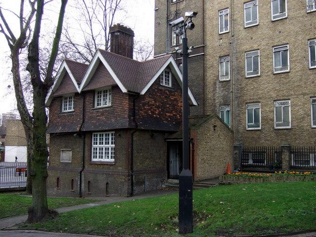 Gardener's cottage, St Pancras Gardens