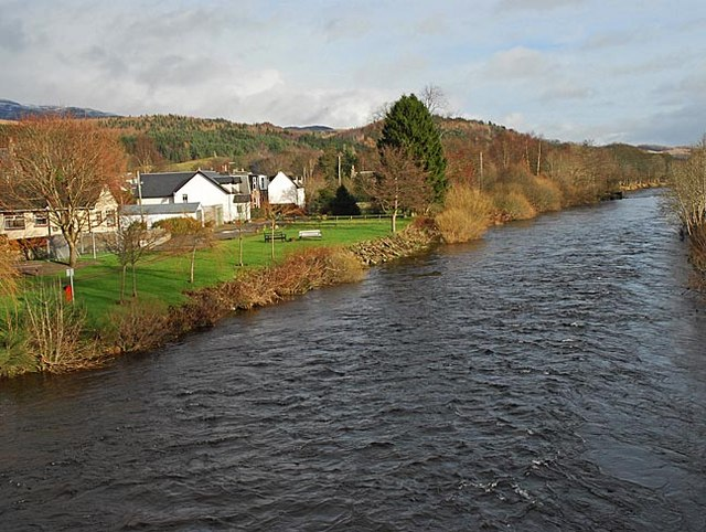 River Earn at Comrie