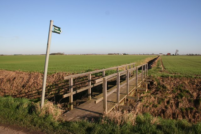 Footpath to Sutterton Drove