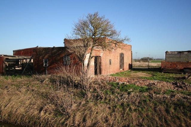 Derelict farm buildings at Maryland