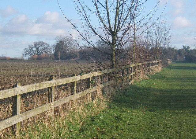 Footpath near Coddenham