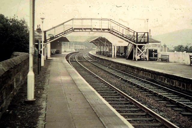 Huntly Railway Station