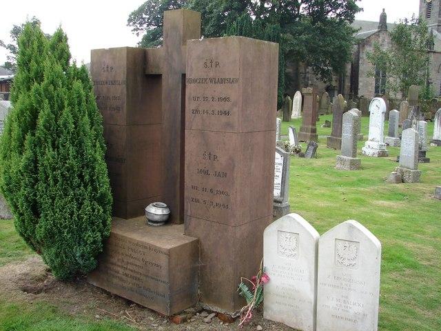 Sanquhar Churchyard - Polish Memorial