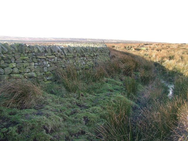 Wall on Kelton Fell