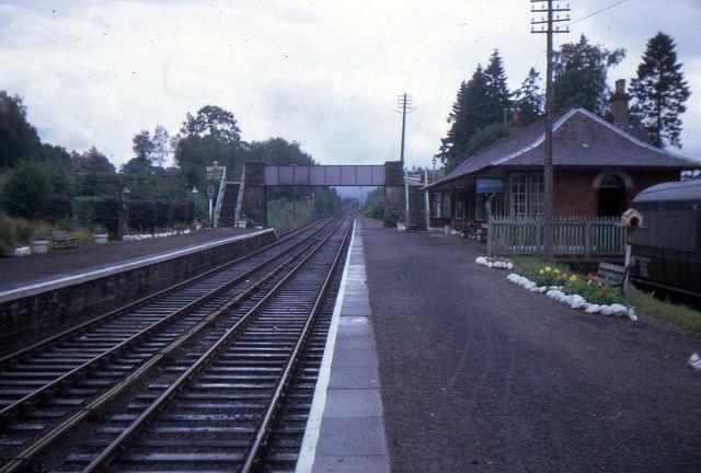 Spean Bridge Railway Station
