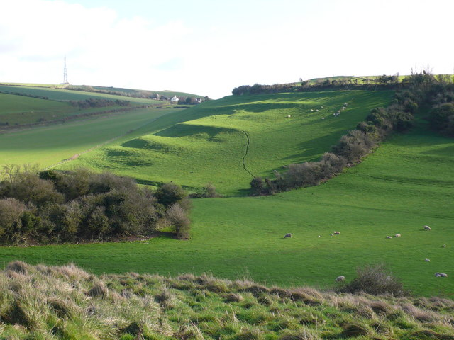 Ancient field system, Bincombe, Weymouth