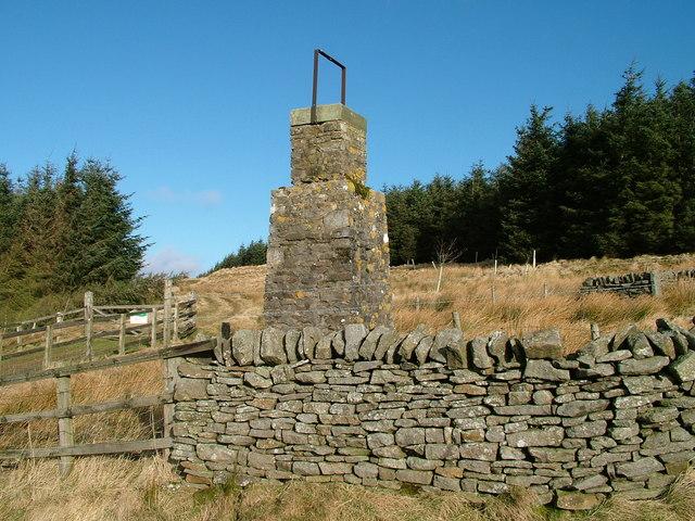Pillar on Blake Hill