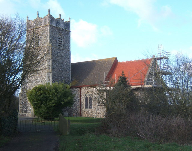 Church of St Mary, Gosbeck