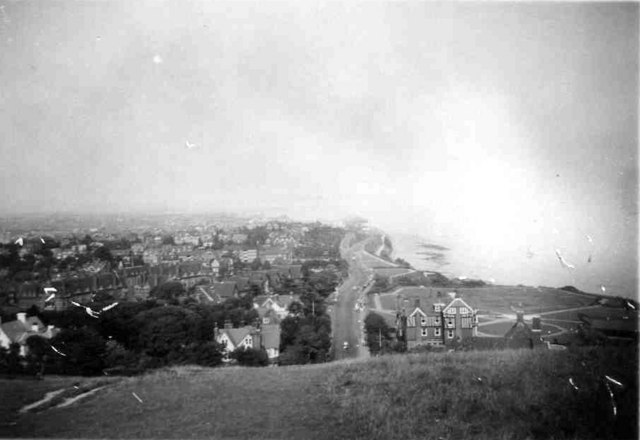 View of Eastbourne taken 1948