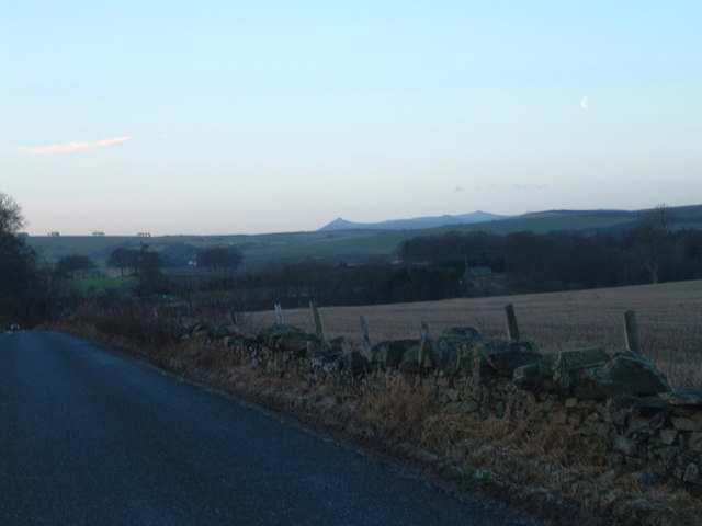 Rodshill towards Fyvie