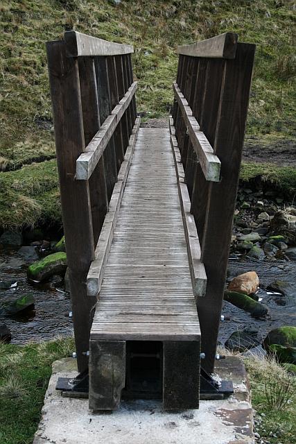 New Footbridge Over Little Dale Beck