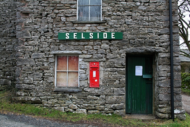 Victorian Letterbox at Selside