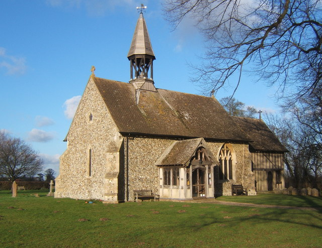All Saints Church, Crowfield