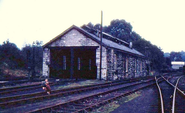 Radstock Loco. Shed