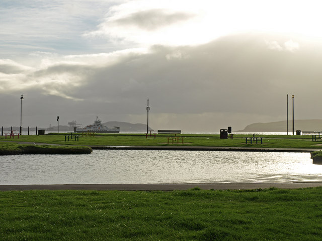 Boating Pond, Largs